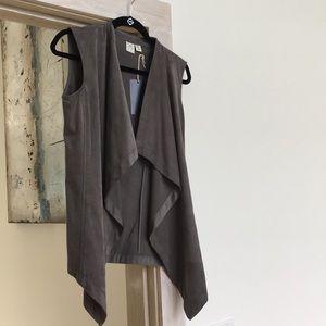 Other - Faux suede vest
